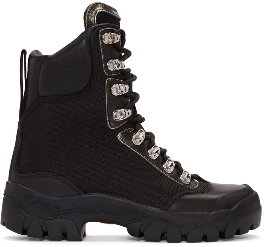 Marcelo Burlon County Of Milan Black Compact Boots