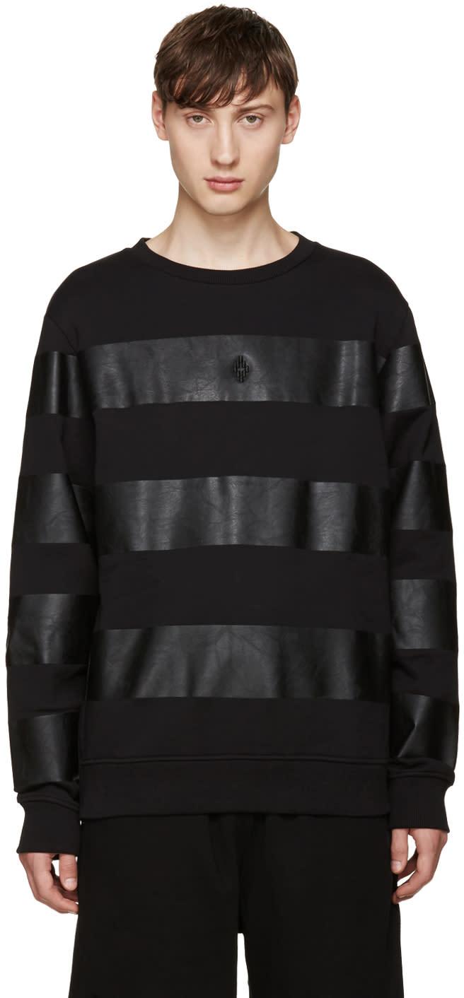 Marcelo Burlon County Of Milan Black Del Huila Sweatshirt