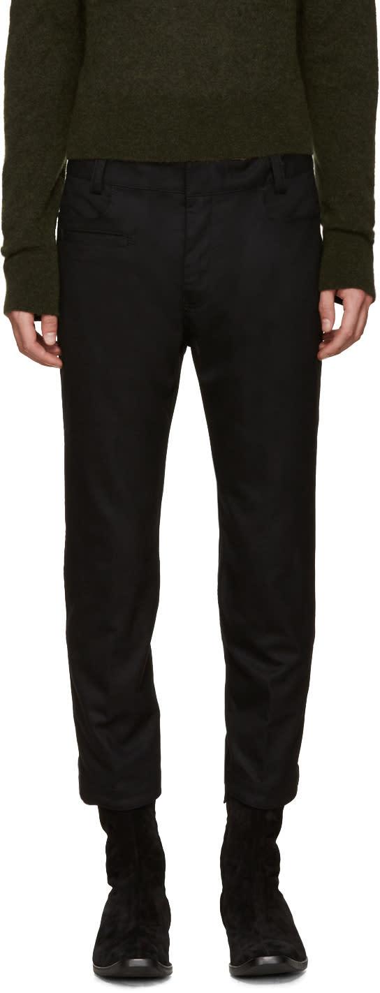 Haider Ackermann Black Wool Coco Trousers