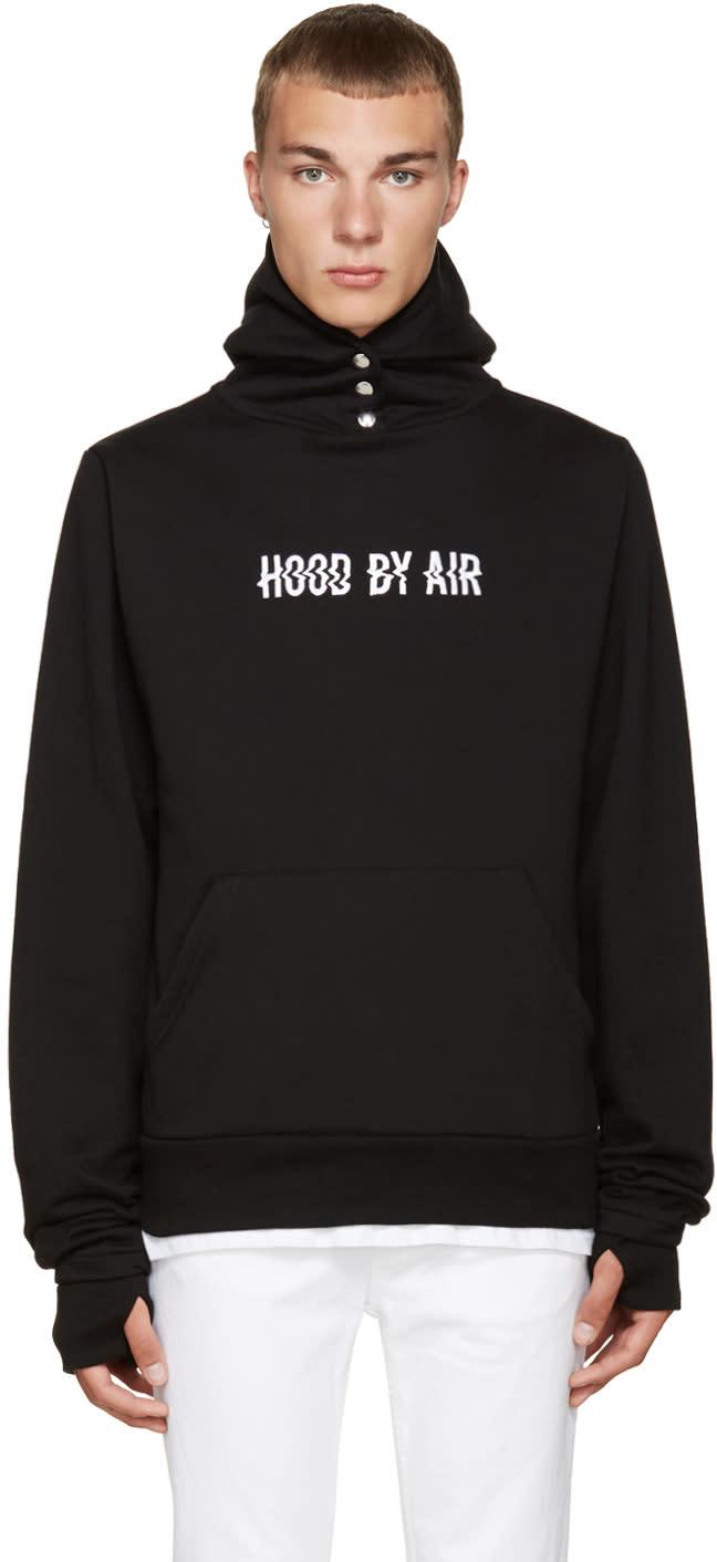 Hood By Air Black Tweek Hoodie