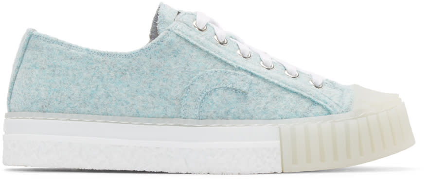Image of Adieu Blue Felted Type W.o. Sneakers