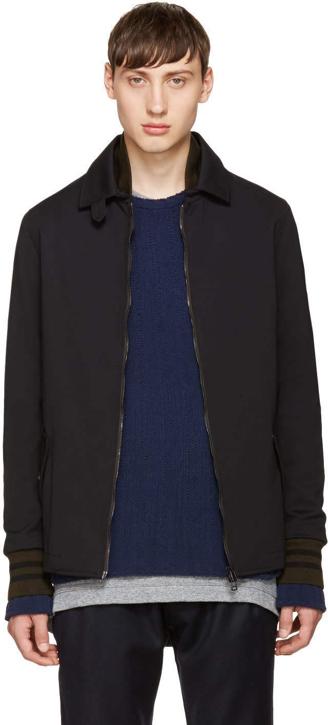 Giuliano Fujiwara Black Zip-up Jacket