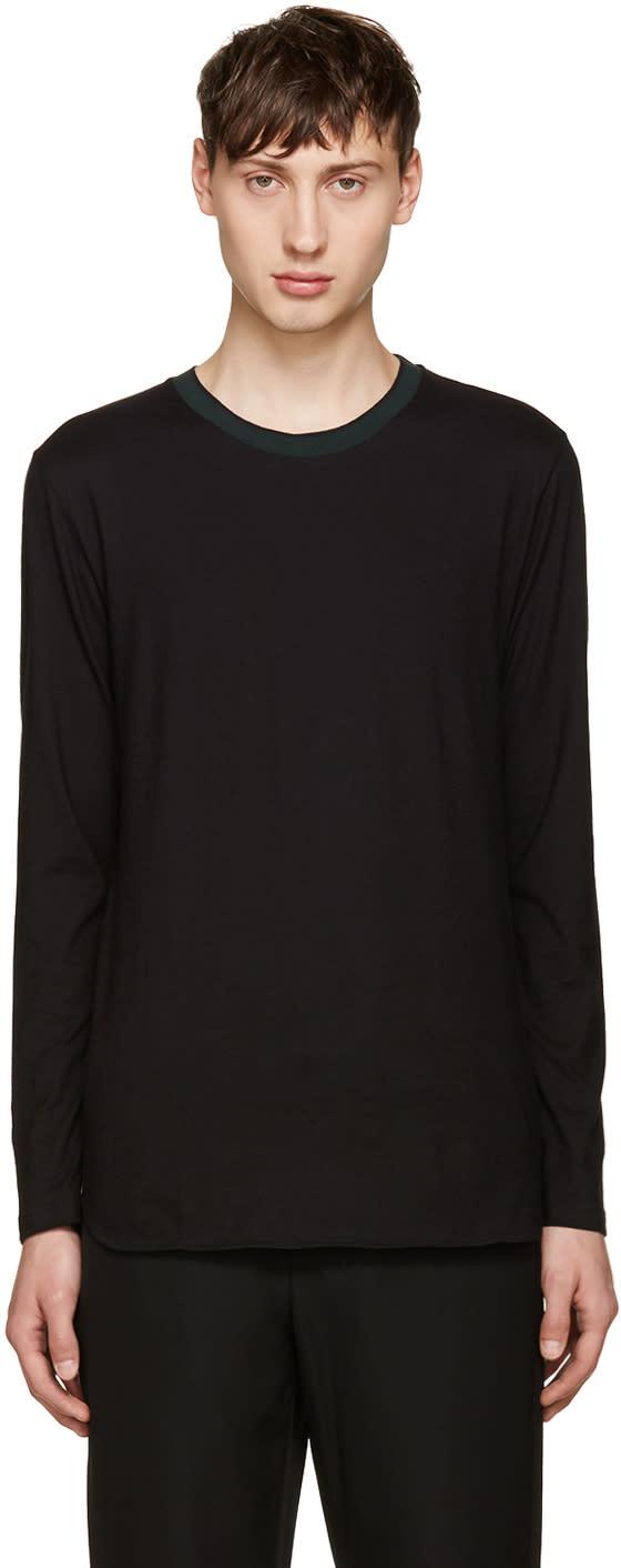 Giuliano Fujiwara Black Jersey T-shirt
