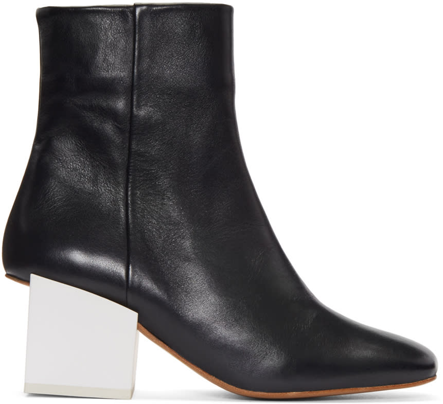 Jacquemus Navy Arlequin Boots