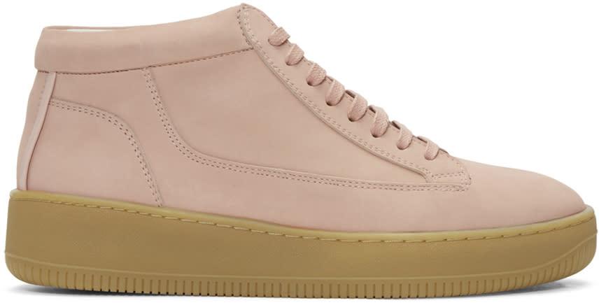 Etq Amsterdam Pink Mid 1 Sneakers