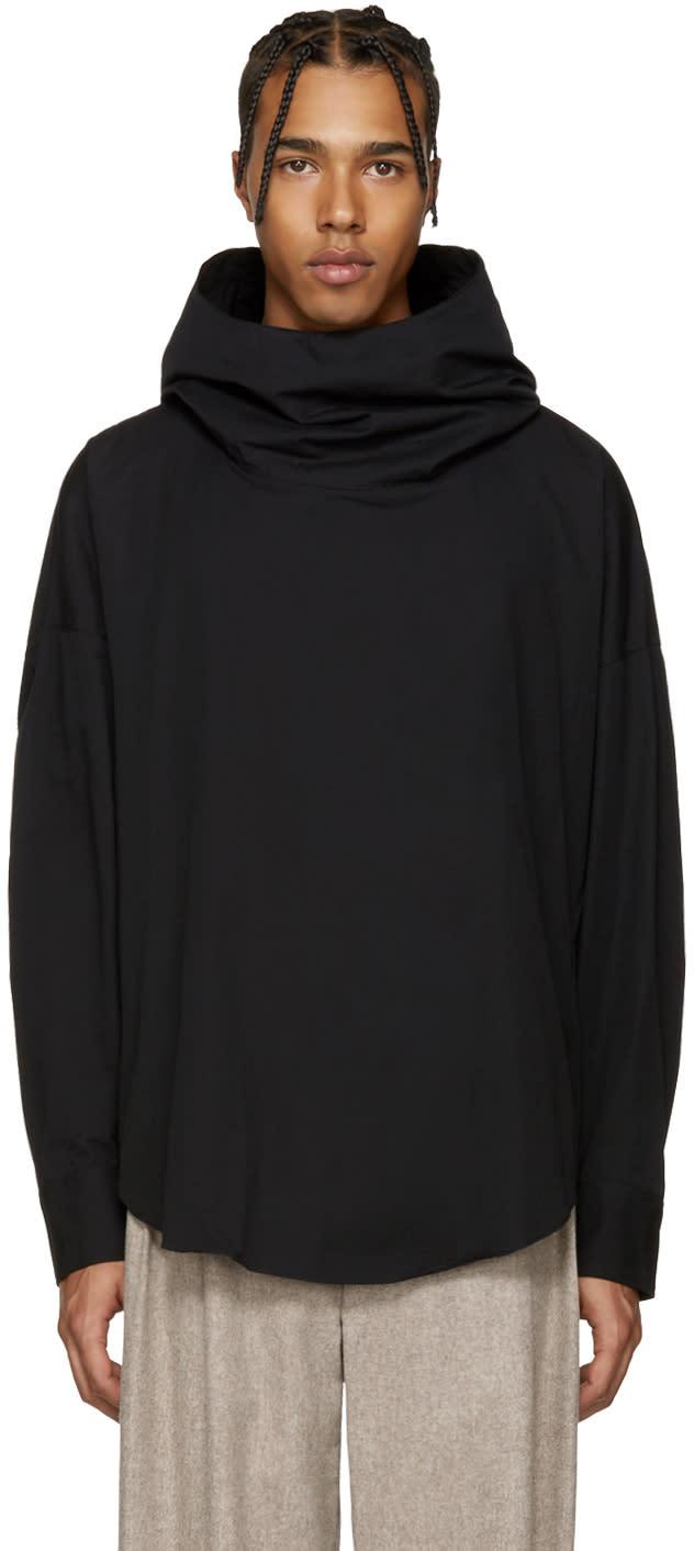 Lad Musician Black Hooded Shirt