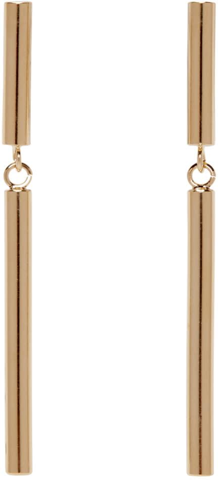 Isabel Marant Gold Double Biennale Earrings