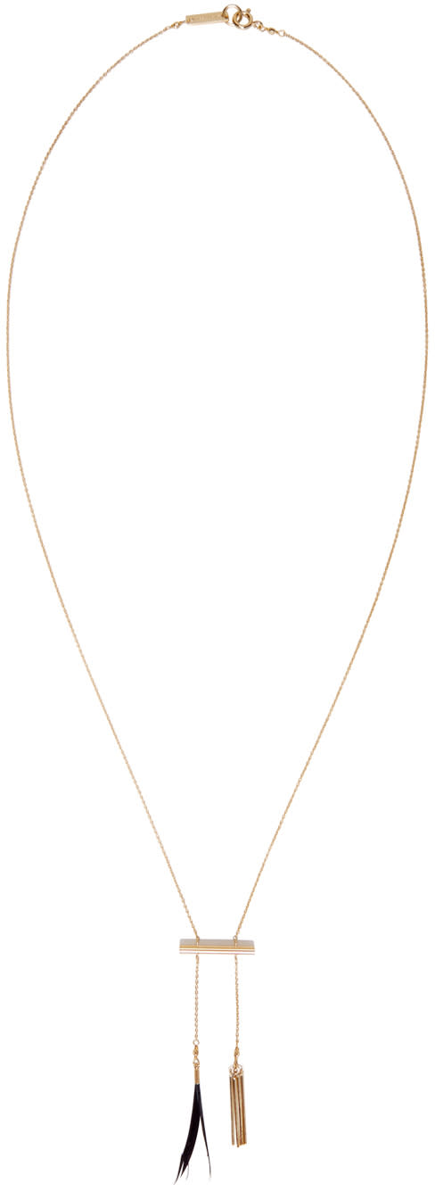 Isabel Marant Gold Biennale Necklace