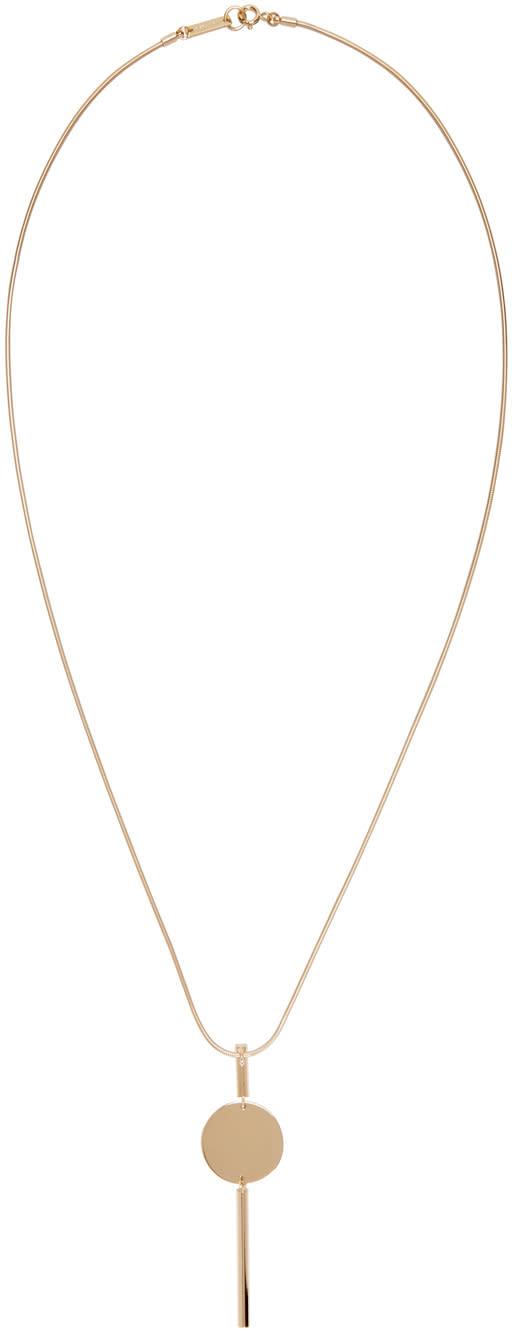 Isabel Marant Gold Josef Maria Necklace