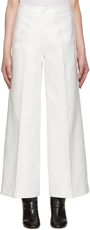 брюки белые купить доставка
