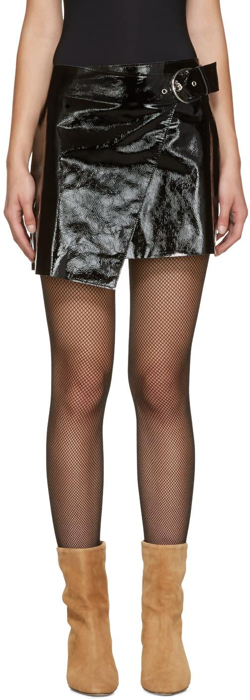 Isabel Marant Black Lindsie Skirt
