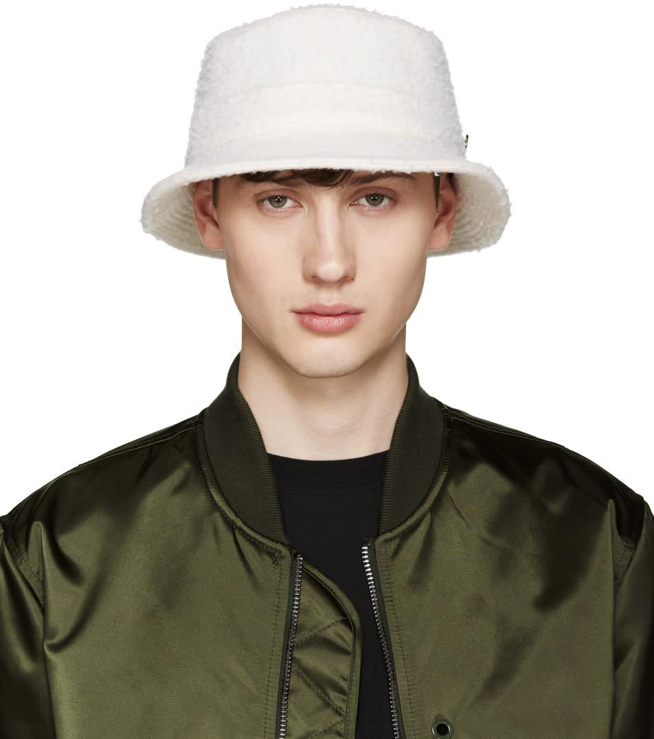 Larose Off-white Casentino Bucket Hat