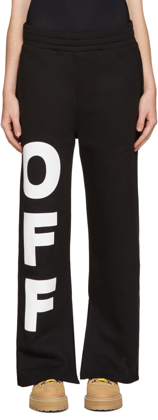 Off-white Black off Split Lounge Pants