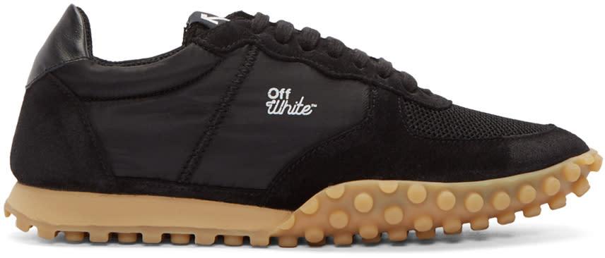 Off-white Black Vintage Runner Sneakers