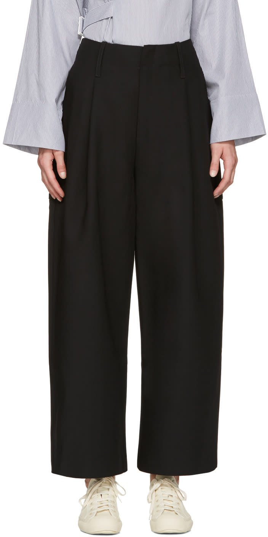 Studio Nicholson Black Brunel Trousers