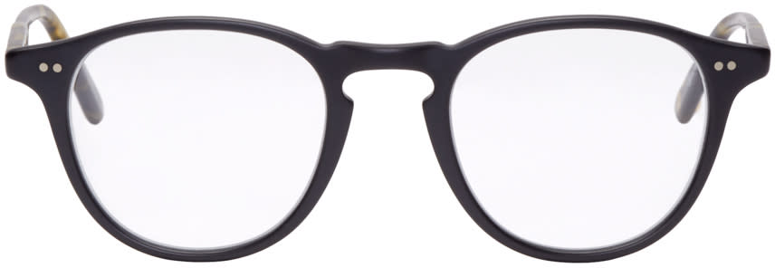Garrett Leight Black Hampton Glasses