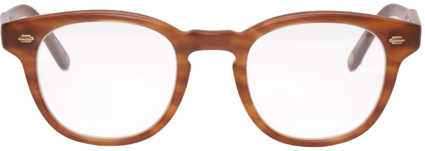 Garrett Leight Tortoiseshell Warren Glasses