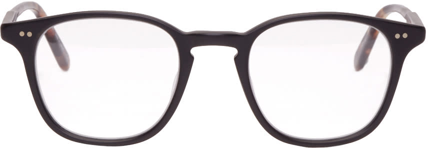 Garrett Leight Black Clark Glasses