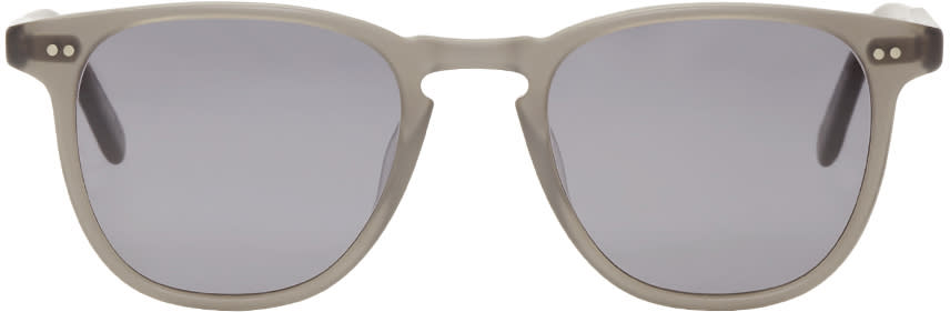 Garrett Leight Grey Brooks Sunglasses