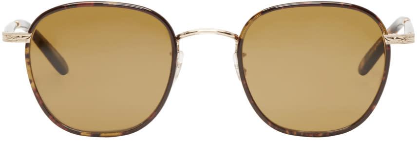 Garrett Leight Tortoiseshell Grant Sunglasses