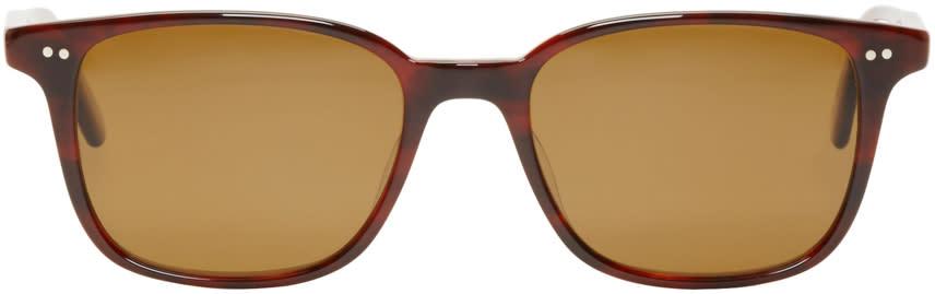 Garrett Leight Tortoiseshell Bryn Mawr Sunglasses