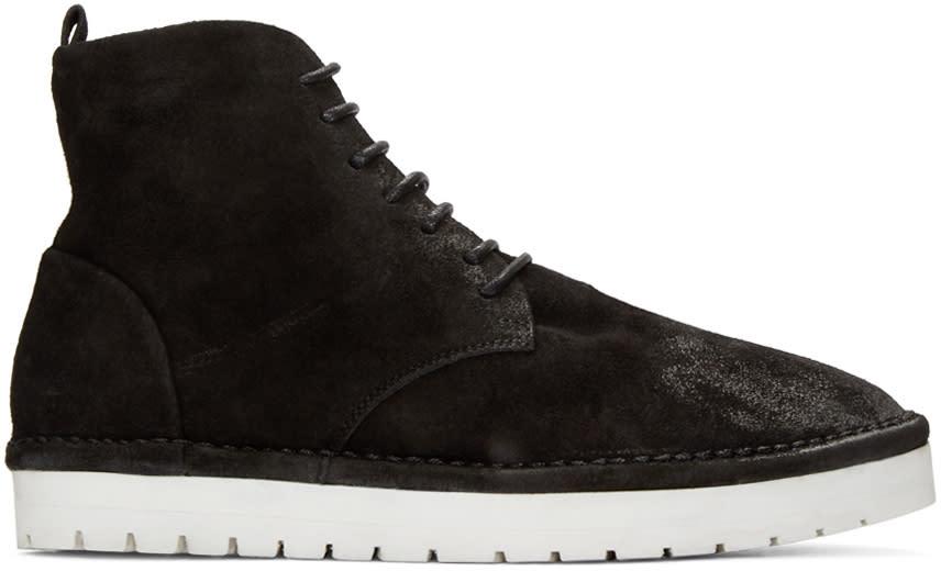 Marsell Gomma Black Caprona Rov Boots