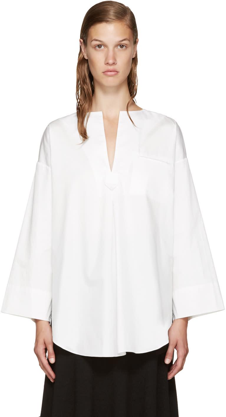 Nomia White Oversized Tunic