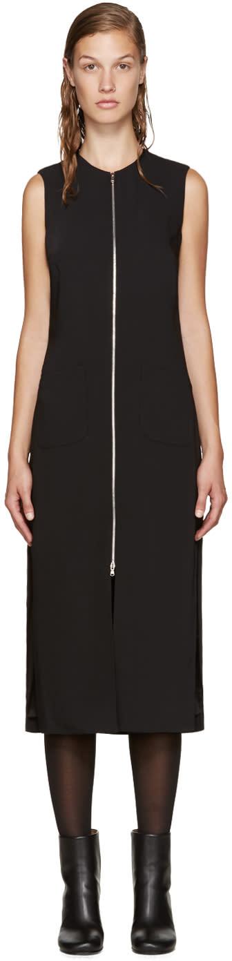 Nomia Black Zip Front Dress