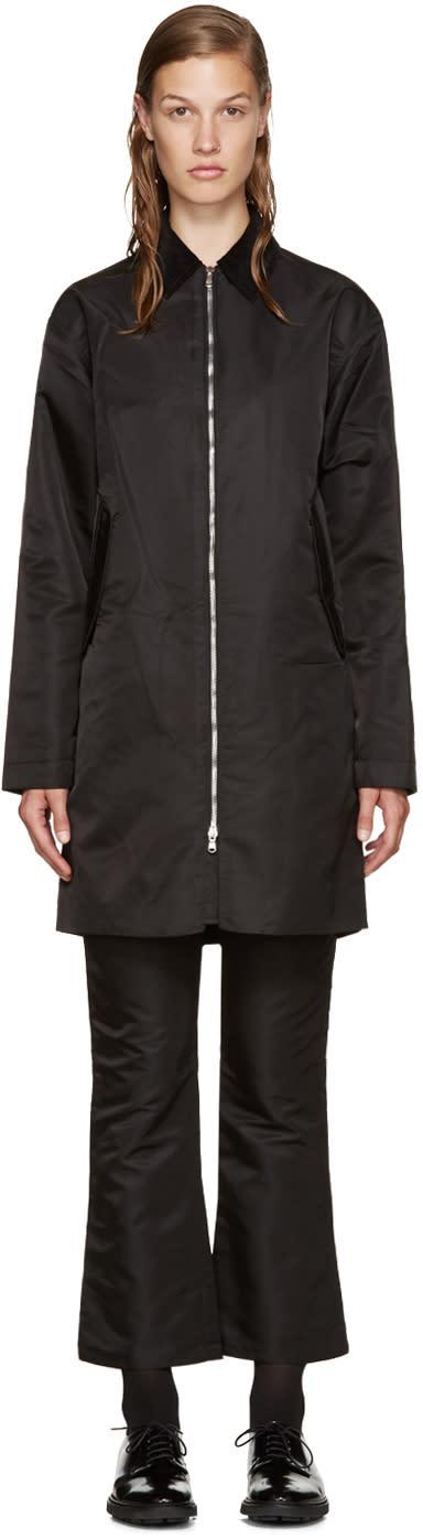 Nomia Black Oversized Mac Jacket
