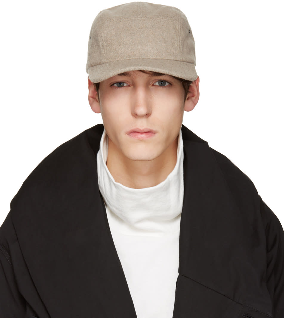 D By D Beige Five Panel Cap