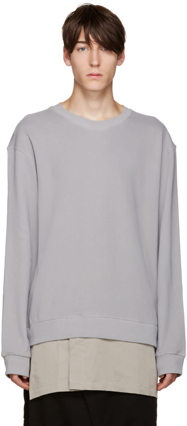 D By D Grey Layered Pullover