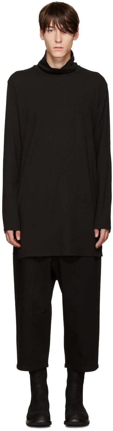 D By D Black Straps Turtleneck
