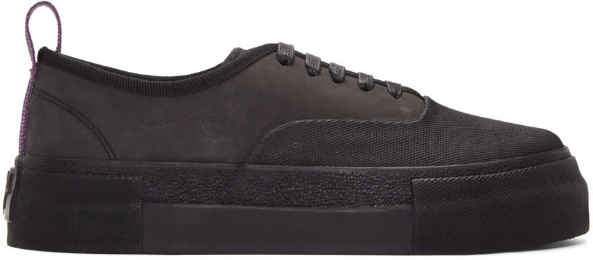 Image of Eytys Black Mother Galosch Sneakers