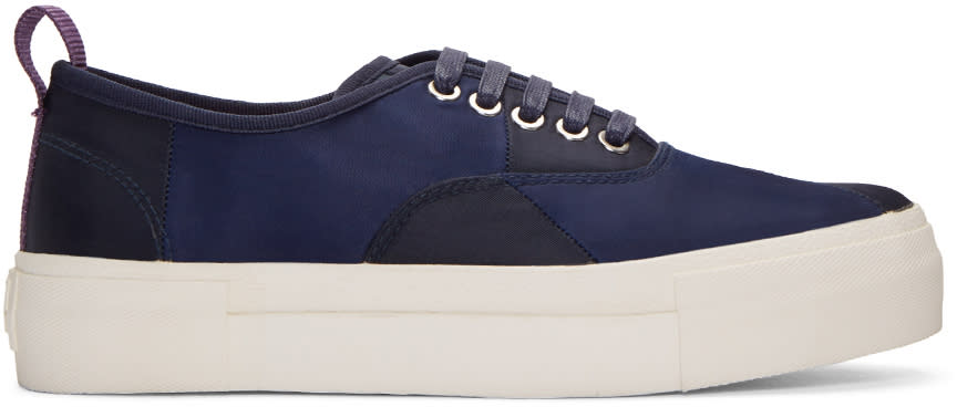 Eytys Navy S. Mullan Edition Mother Sneakers