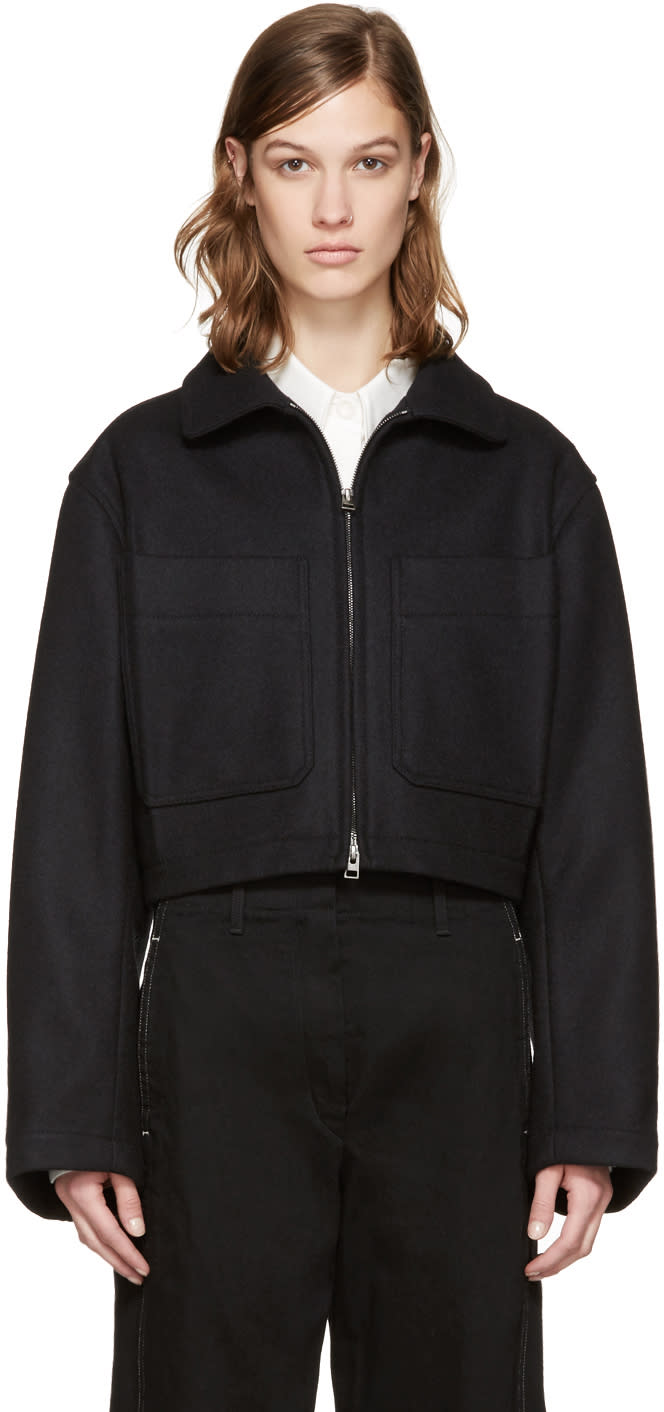 Lemaire Black Wool Jacket
