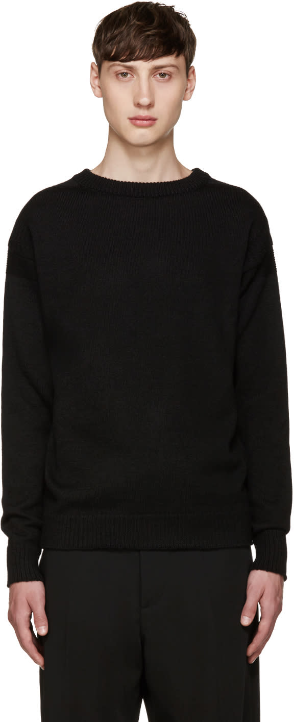Lemaire Black Guernsey Sweater
