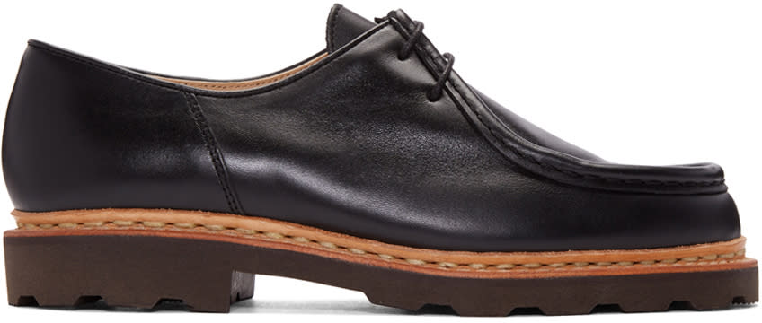 Lemaire Black Paraboot Edition Michael Loafers
