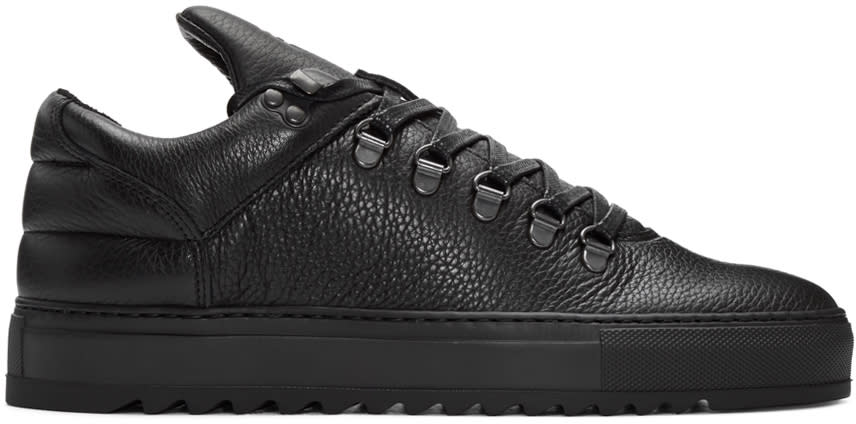 Filling Pieces Black Mountain Cut Sneakers