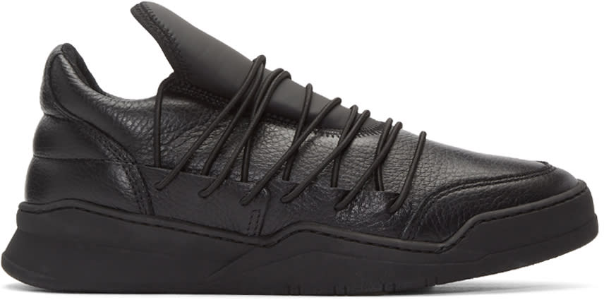 Filling Pieces Black Lee Sneakers