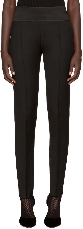 Image of Pallas Black Wool Esope Trousers