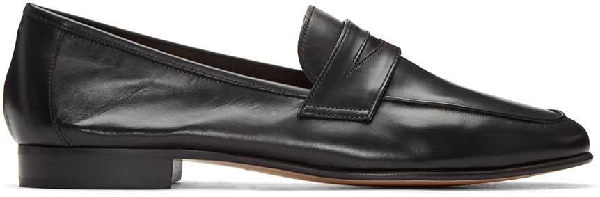 Mansur Gavriel Black Classic Loafers