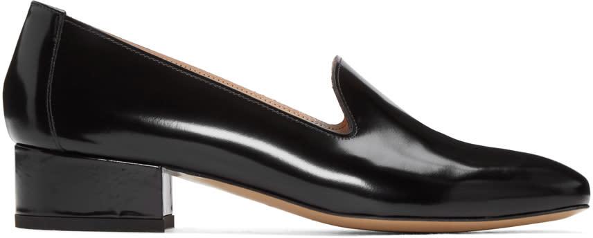 Mansur Gavriel Black Venetian Loafers