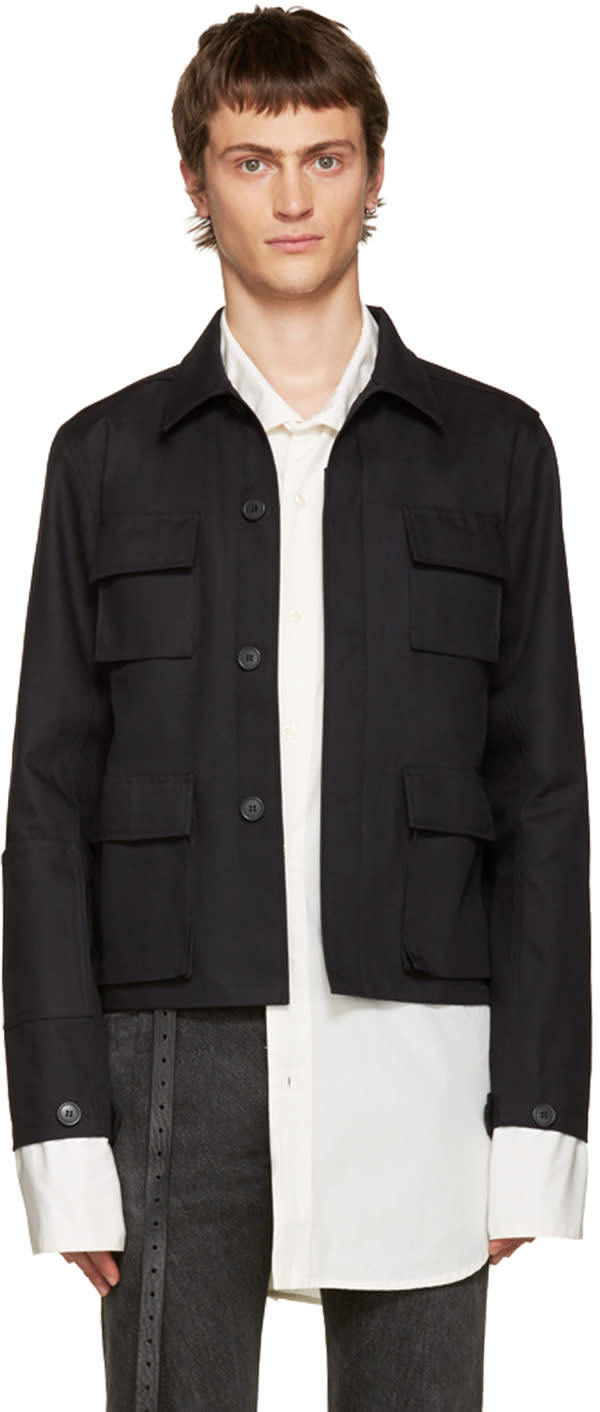 Vetements Black Gun Club Jacket