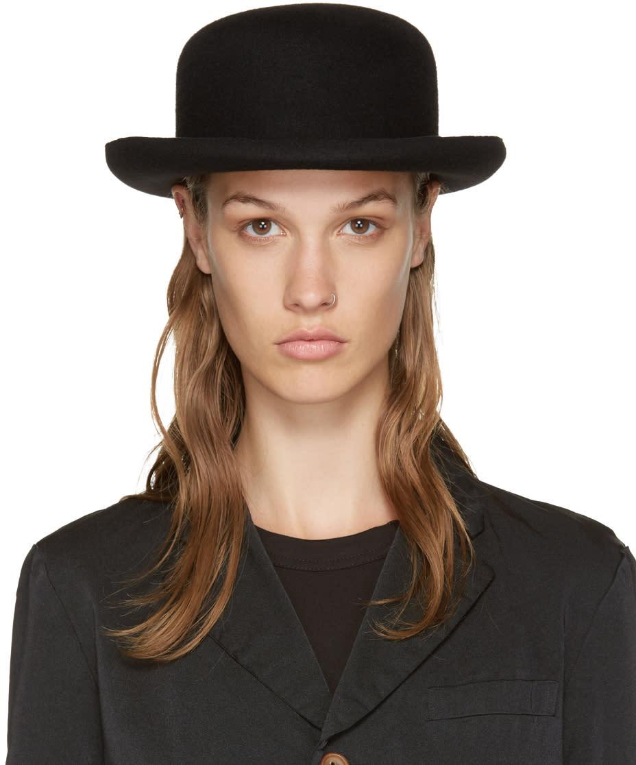Comme Des Garcons Black Scha Edition Bowler Hat
