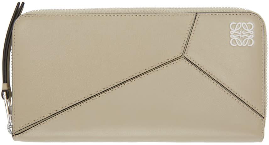 Loewe Beige Puzzle Wallet