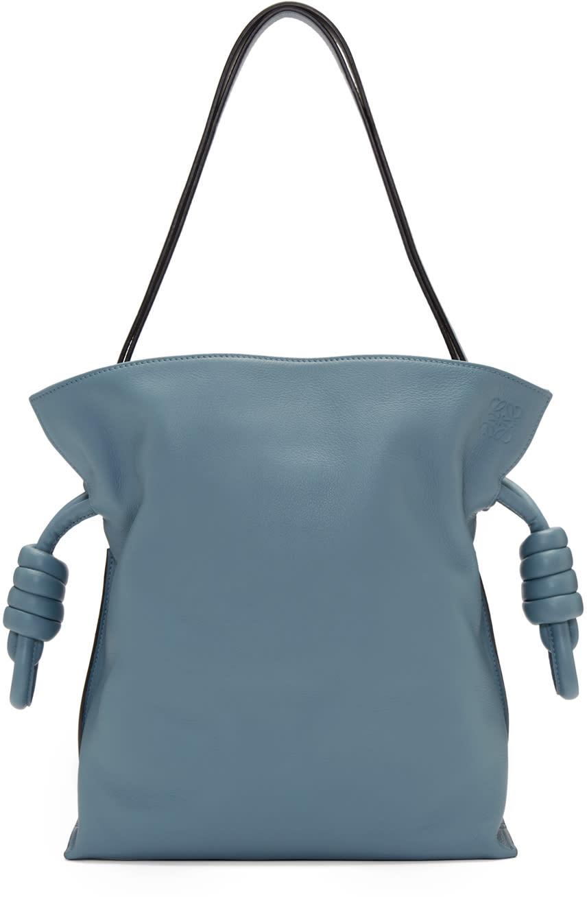 Loewe Blue Flamenco Knot Bag