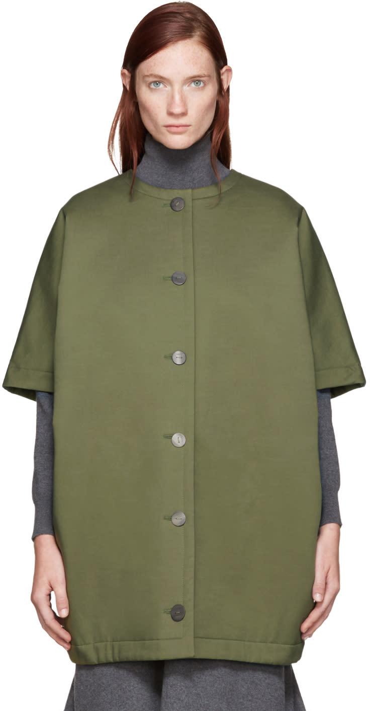Loewe Green Oversized Jacket