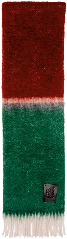 Loewe Tricolor Window Scarf