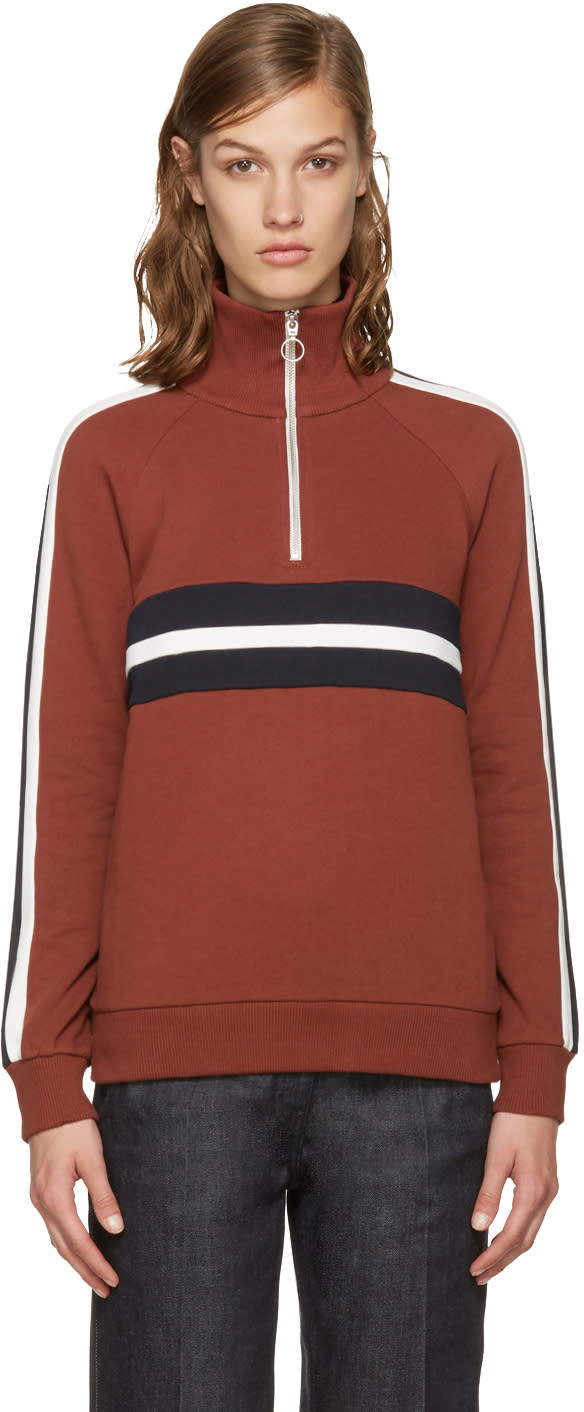 Harmony Brown Sidonie Zip-up Pullover