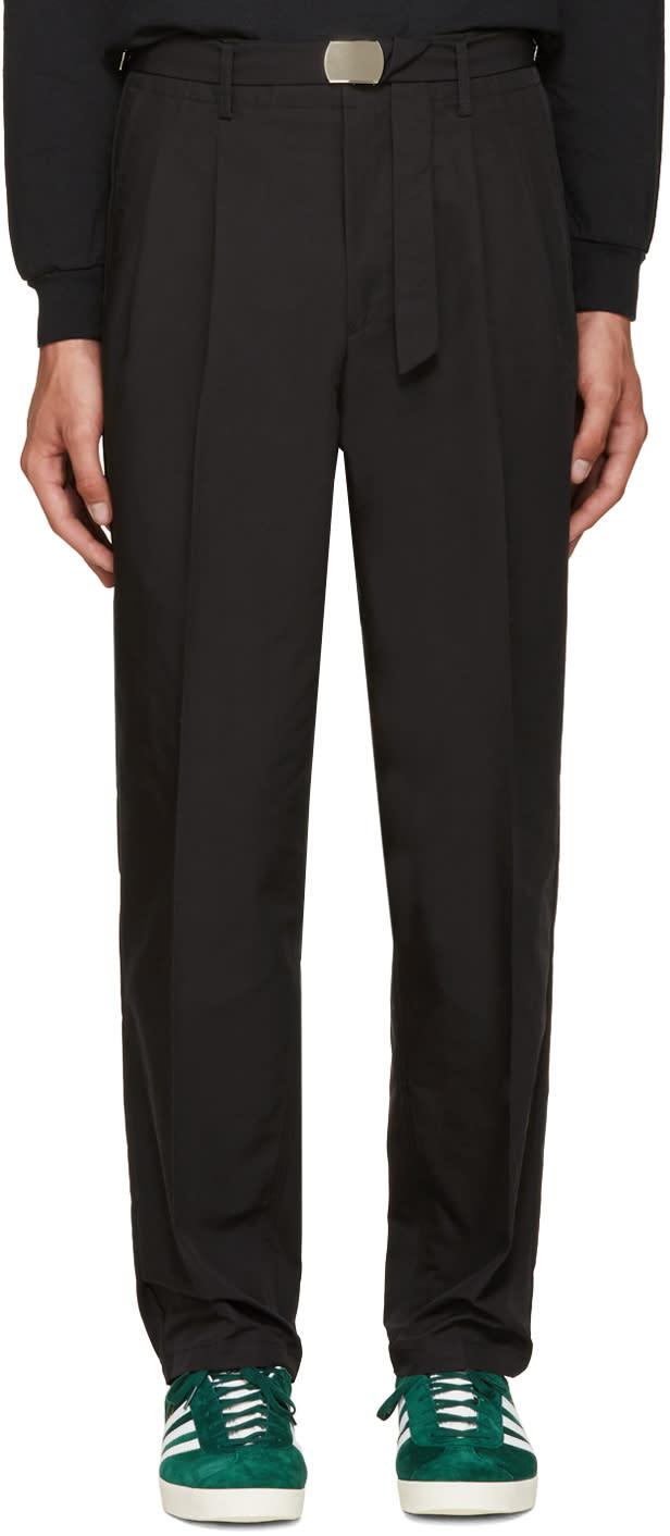 Toga Virilis Black Chino Trousers